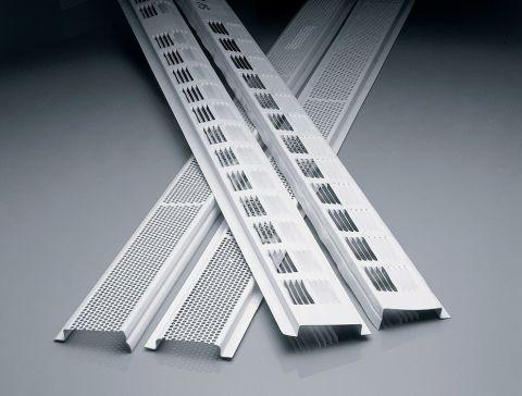 Aluminum Continuous Soffit Vent