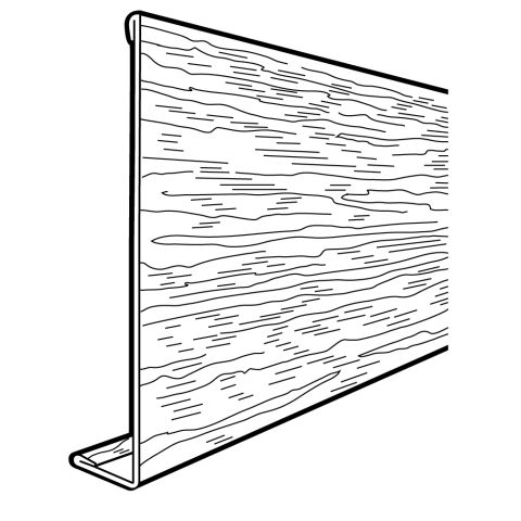 Rollex SL-8 PVC Steel Fascia Cover