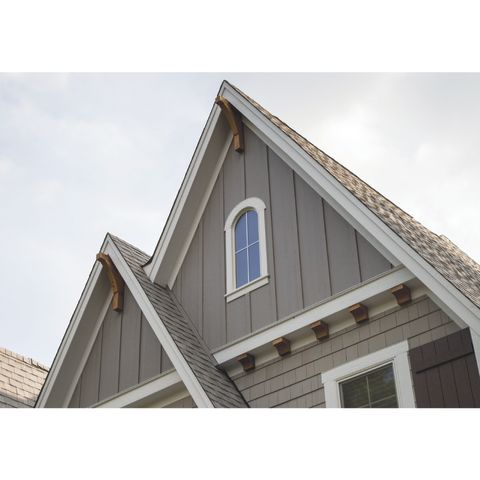 Primed SmartSide Series 38 Cedar Texture Vertical Siding