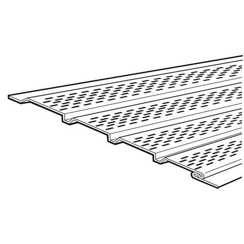 "Rollex System 3 16"" Lanced Soffit Panel"