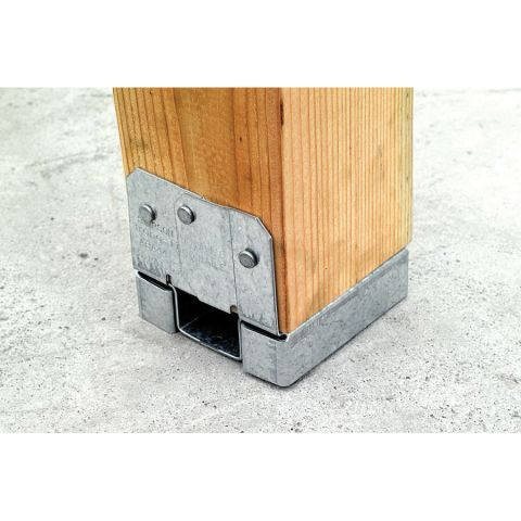 Simpson Strong-Tie ABA 4 x 4 Adjustable and Standoff Post Base