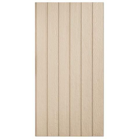 """SmartSide Primed 7/16"""" Cedar Texture Panel Siding - 8"""" OC"""