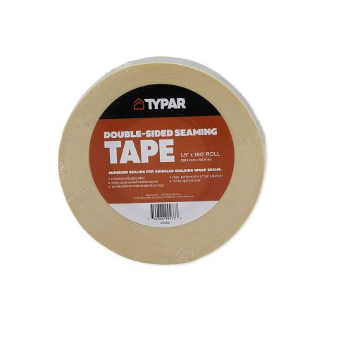 Typar Double-Sided Seaming Tape - 1-1/2 in x 180 ft