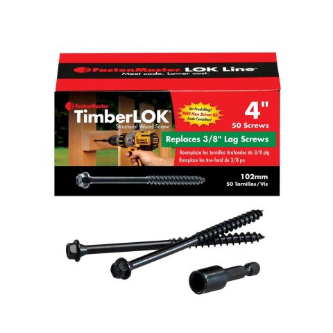 TimberLOK Truss Screws - Box of 50