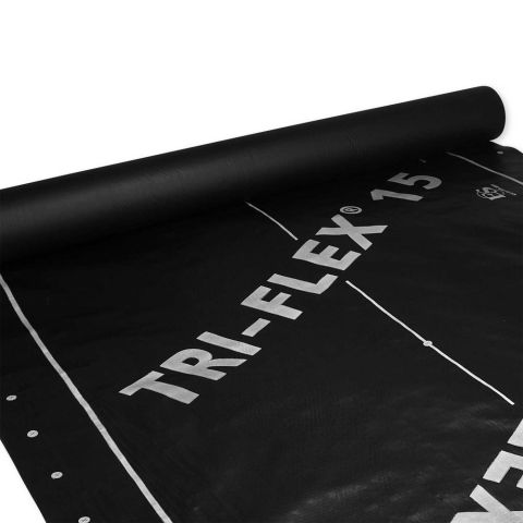 Tri-Flex 15 - Synthetic Roof Underlayment - 4' x 250' Roll