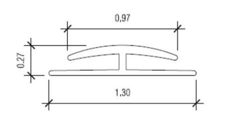 Glasliner Divider Molding