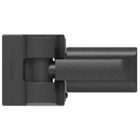 Boerboel Heavy-Duty Modern Style Wrap Hinge (Pair)