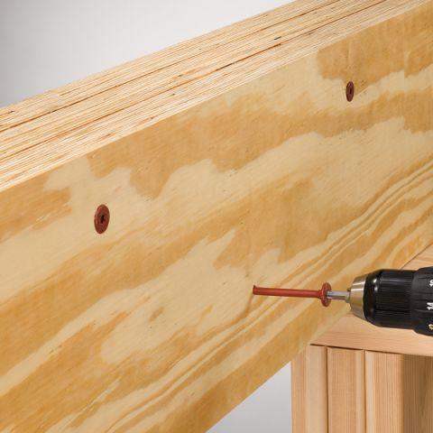 FlatLok Structural Wood Screws - Box of 50
