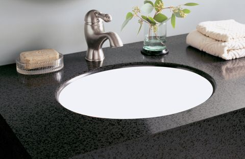 Formica Solid Surfacing L075  Undermount Vanity Bowl