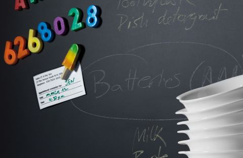 Magnetic Black Chalkboard Matte 58