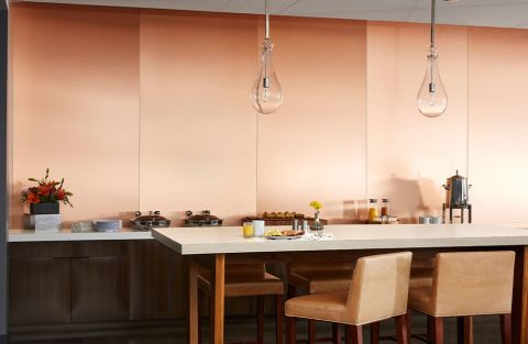 Formica Copper Stainless M9428 DecoMetal® Metal Laminate