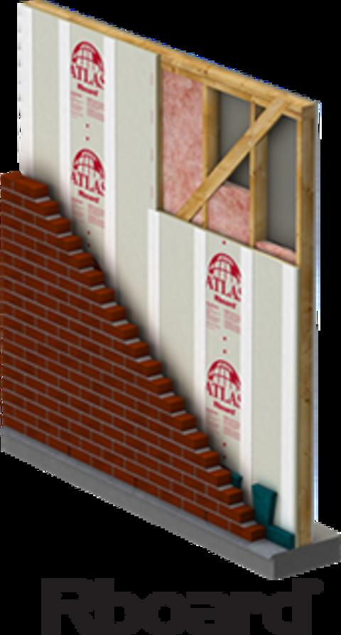 Atlas Rboard® Rigid Foam Insulation - Wall Sheathing