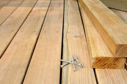 What decking materials will you be using for your outdoor space?