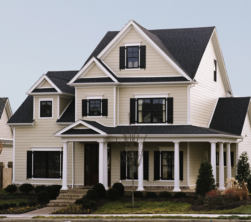 The beautiful colors of James Hardie ColorPlus® Technology are resistant to fading from UV rays.