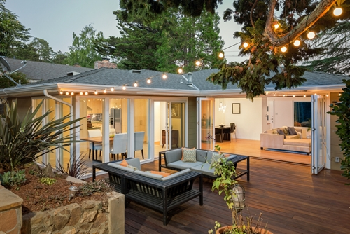 Gadgets and other electronic devices can take your outdoor living space to the next level.