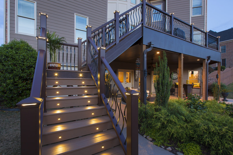deck outdoor lighting