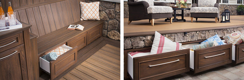 deck drawer storage