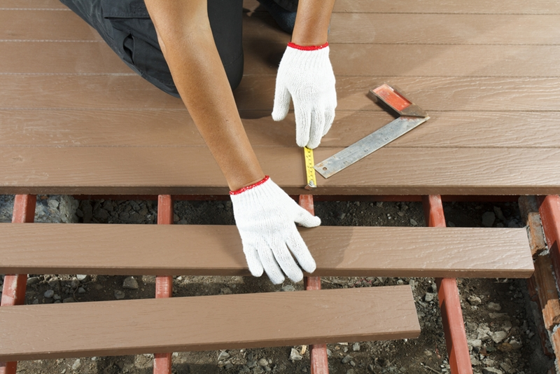 The material you choose for your custom deck is a big part of its overall beauty.