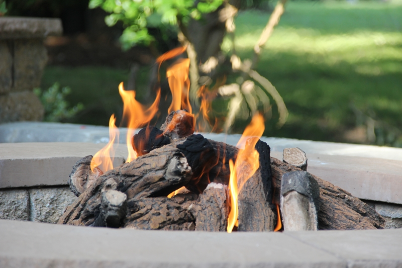 Not only will a fire pit keep you warm, it also provides a way to create lasting family memories.