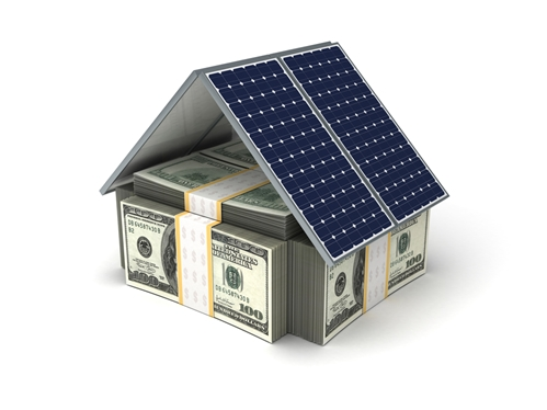 Can green energy homes help increase value? One report seems to say so.