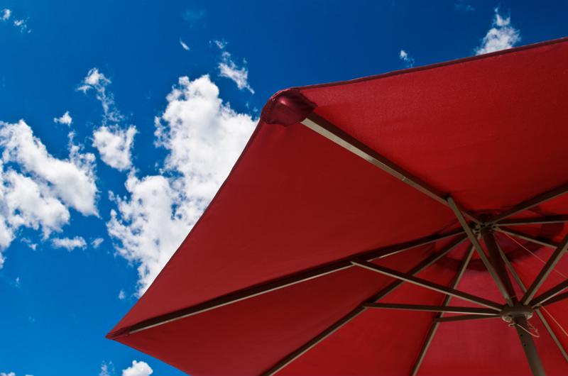 Shade prevents harmful UV rays from striking the wood of the deck, helping to extend its durability and visual appeal.