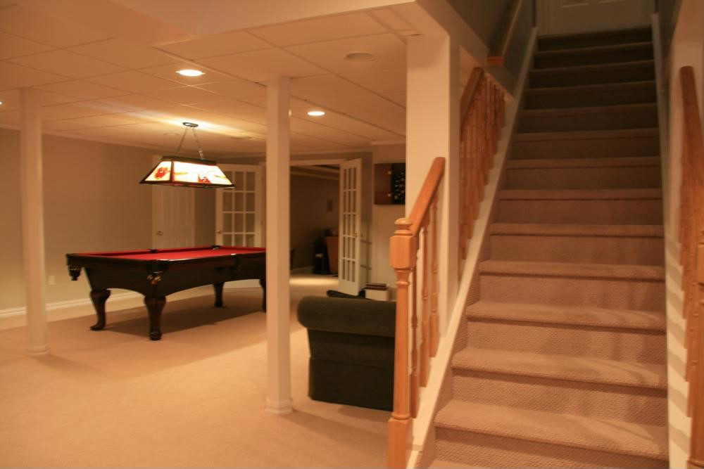 Tips for remodeling a basement this spring.