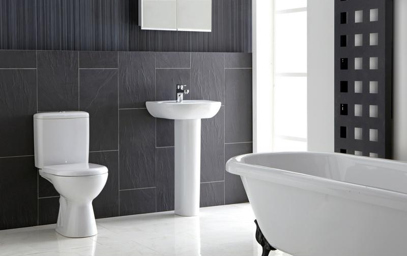 There are many ways to go with a bathroom renovation.