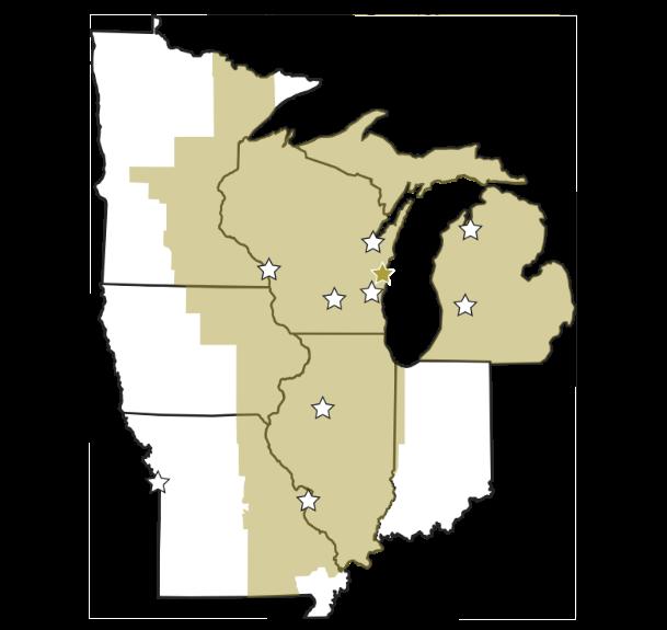 Amerhart Locations