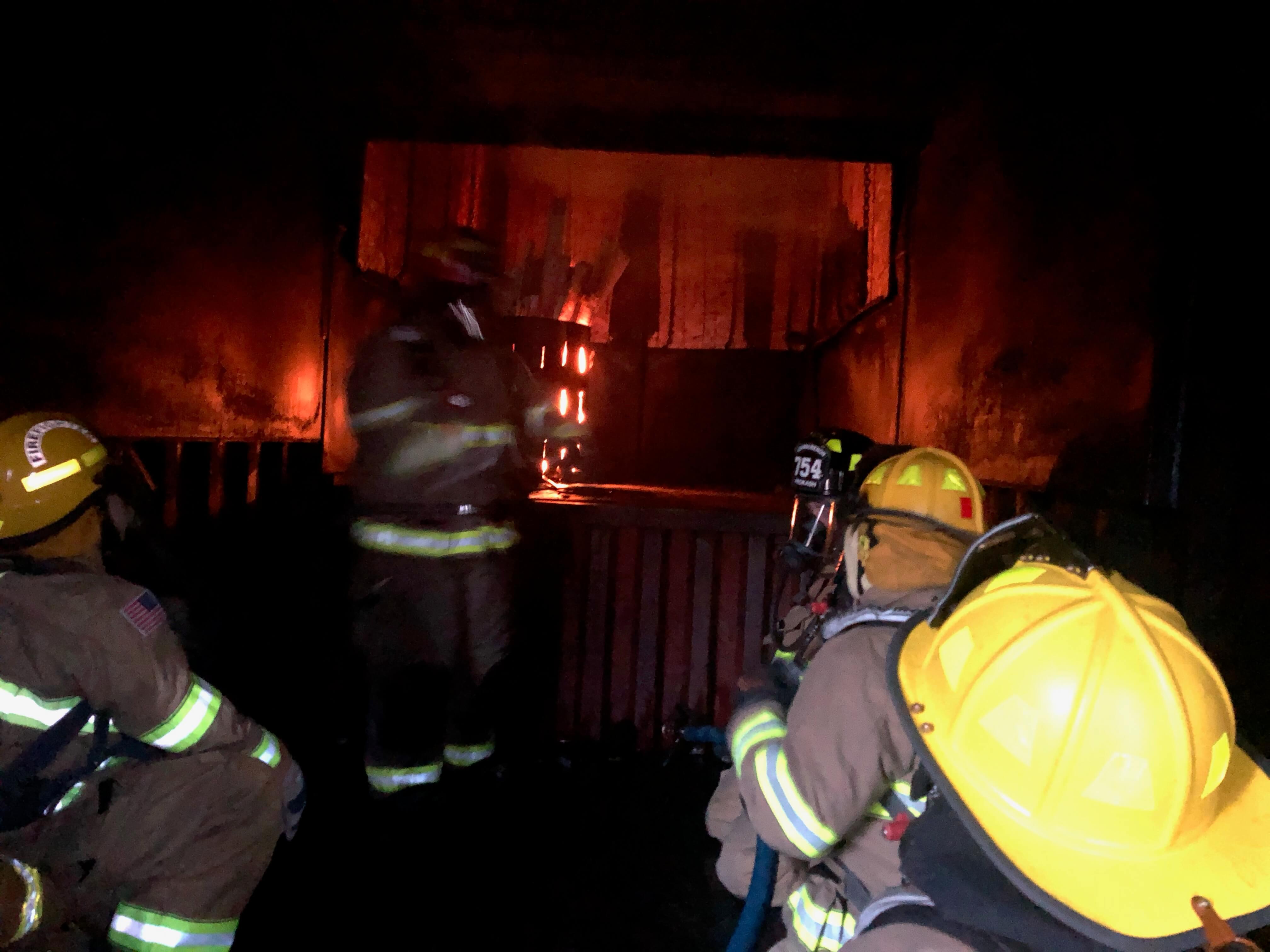 NWTC Firefighting Class OSB