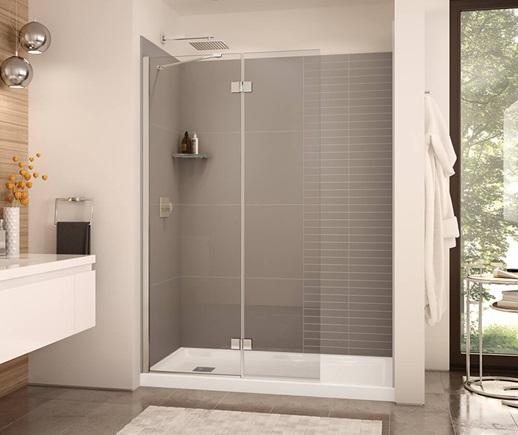 MAAX Shower Doors Edge Duo Shield