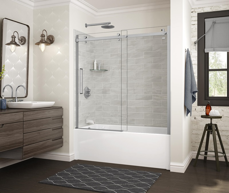 MAAX Utile Organik Permasoft Tub Shower