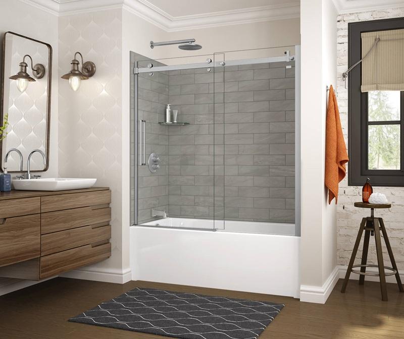 MAAX Utile Organik Clay Tub Shower