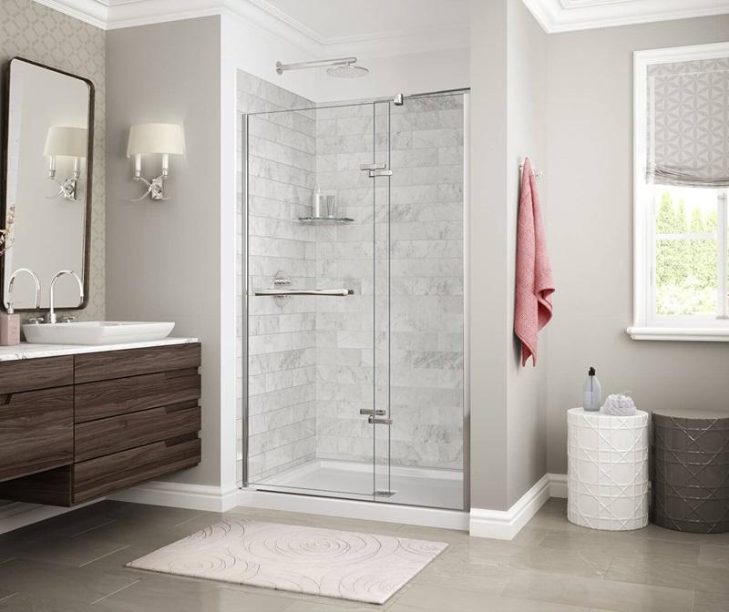 MAAX Marble Carrara SH6032 Alcove Shower