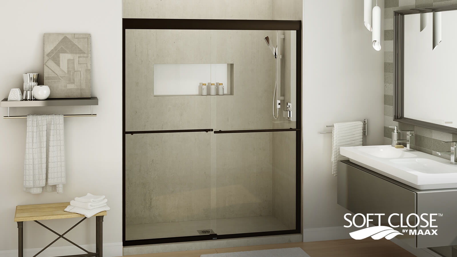 MAAX Soft Close Door Innovation