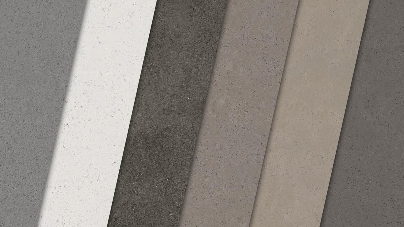New Shower Walls Colors: Concrete