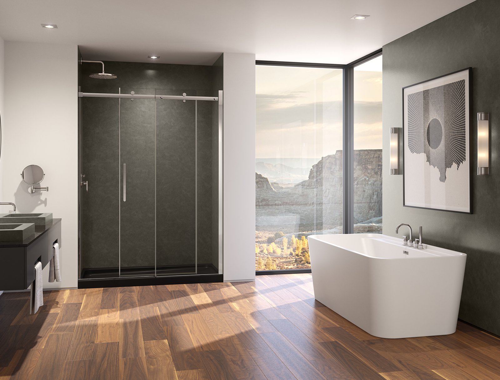 Modern Shower Solutions Suite