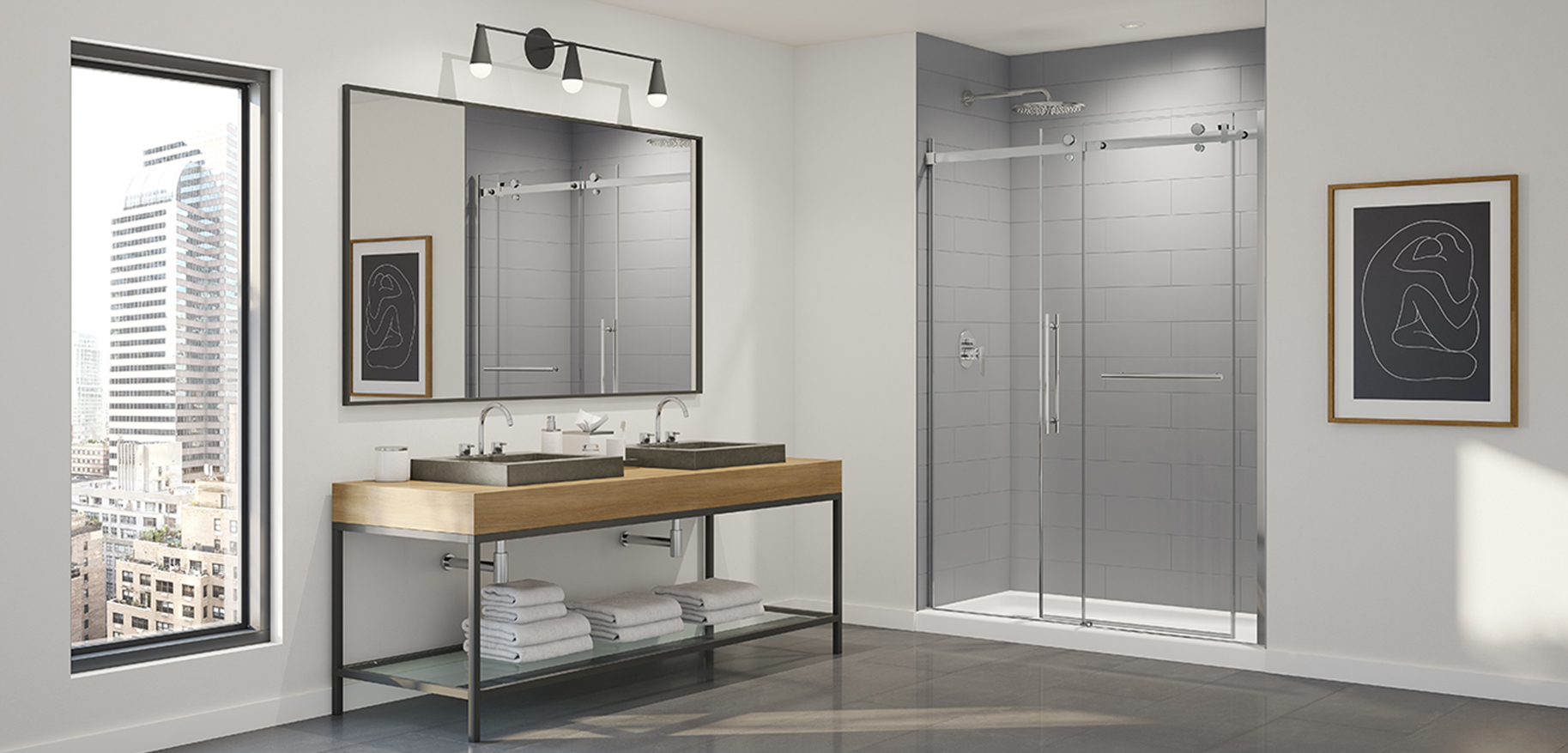 New Shower Wall Solutions