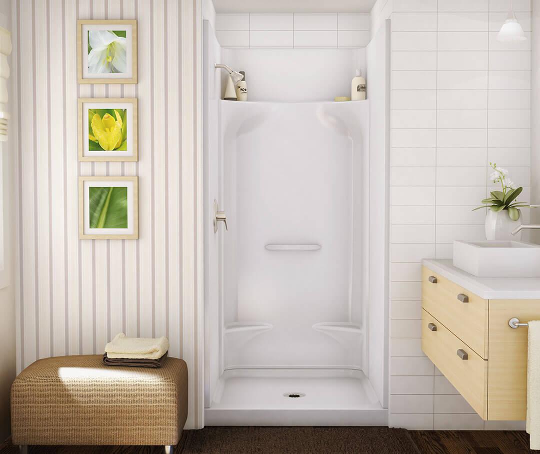 Range of shower stalls.