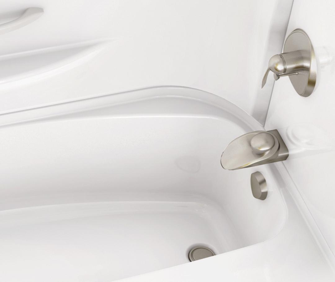 Acrylx Bathtub Header