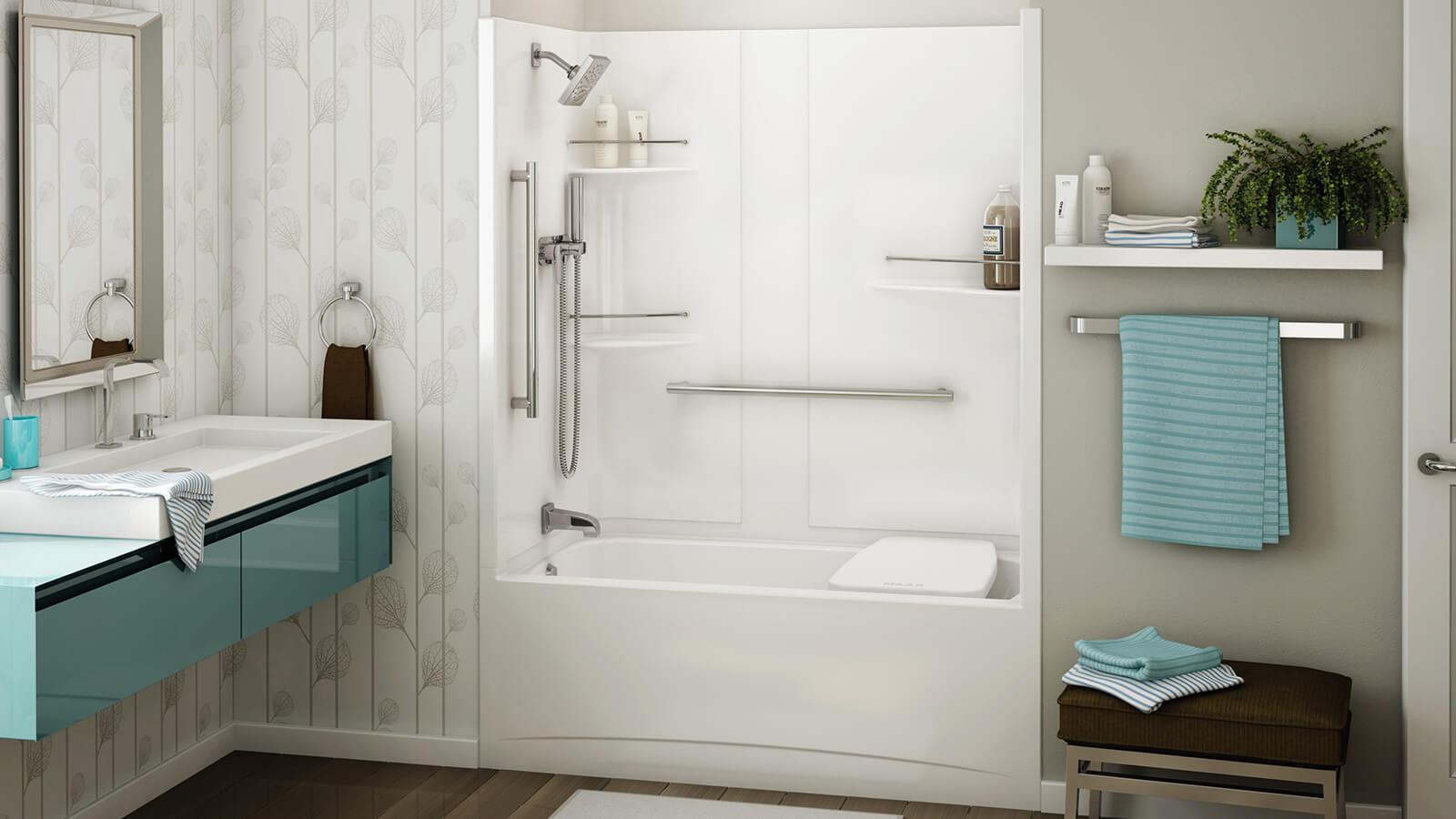 ALLIA tub shower