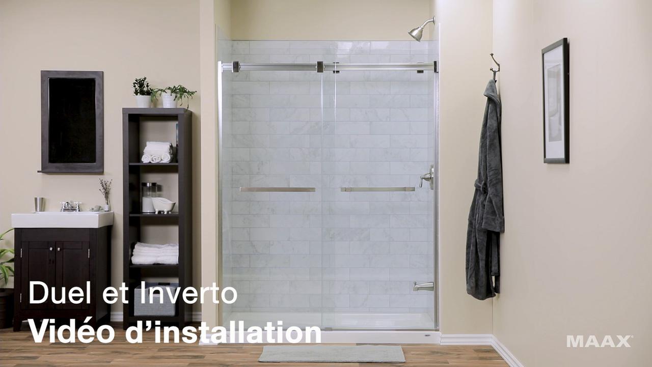 Portes de douche - vidéo d'installation