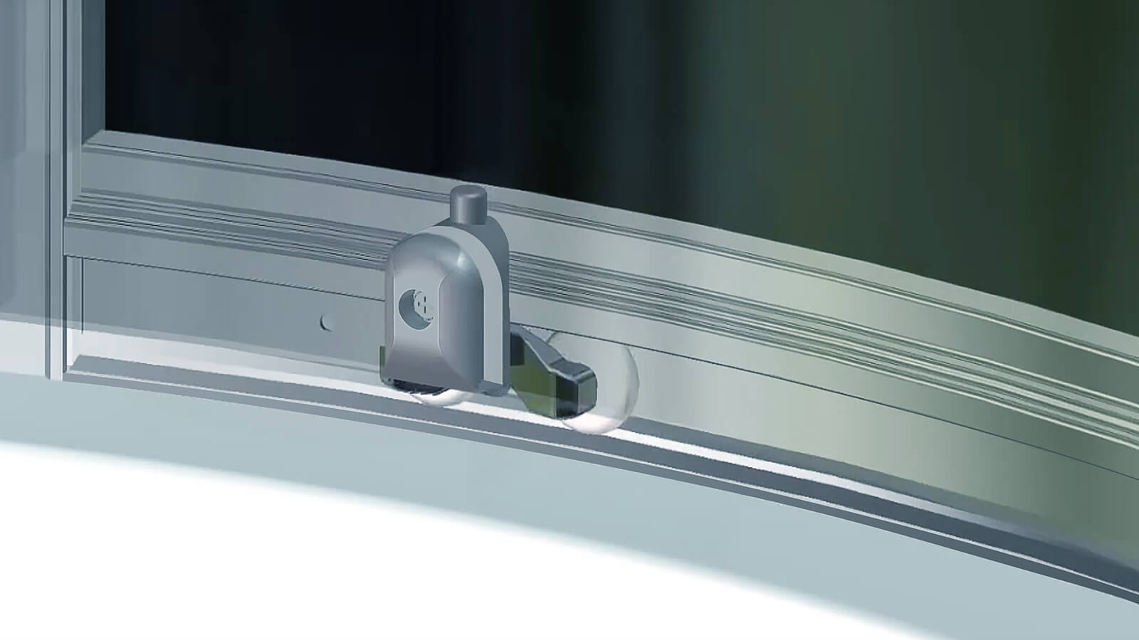 Clip and push system