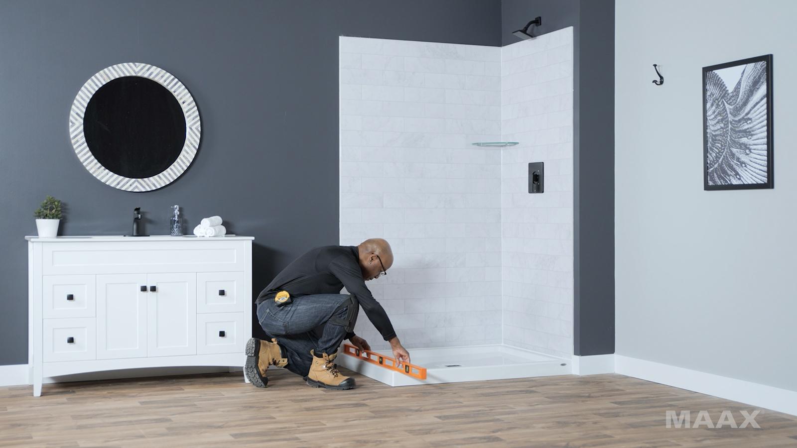 Reveal Sleek - Pivot Shower door - Installation Video