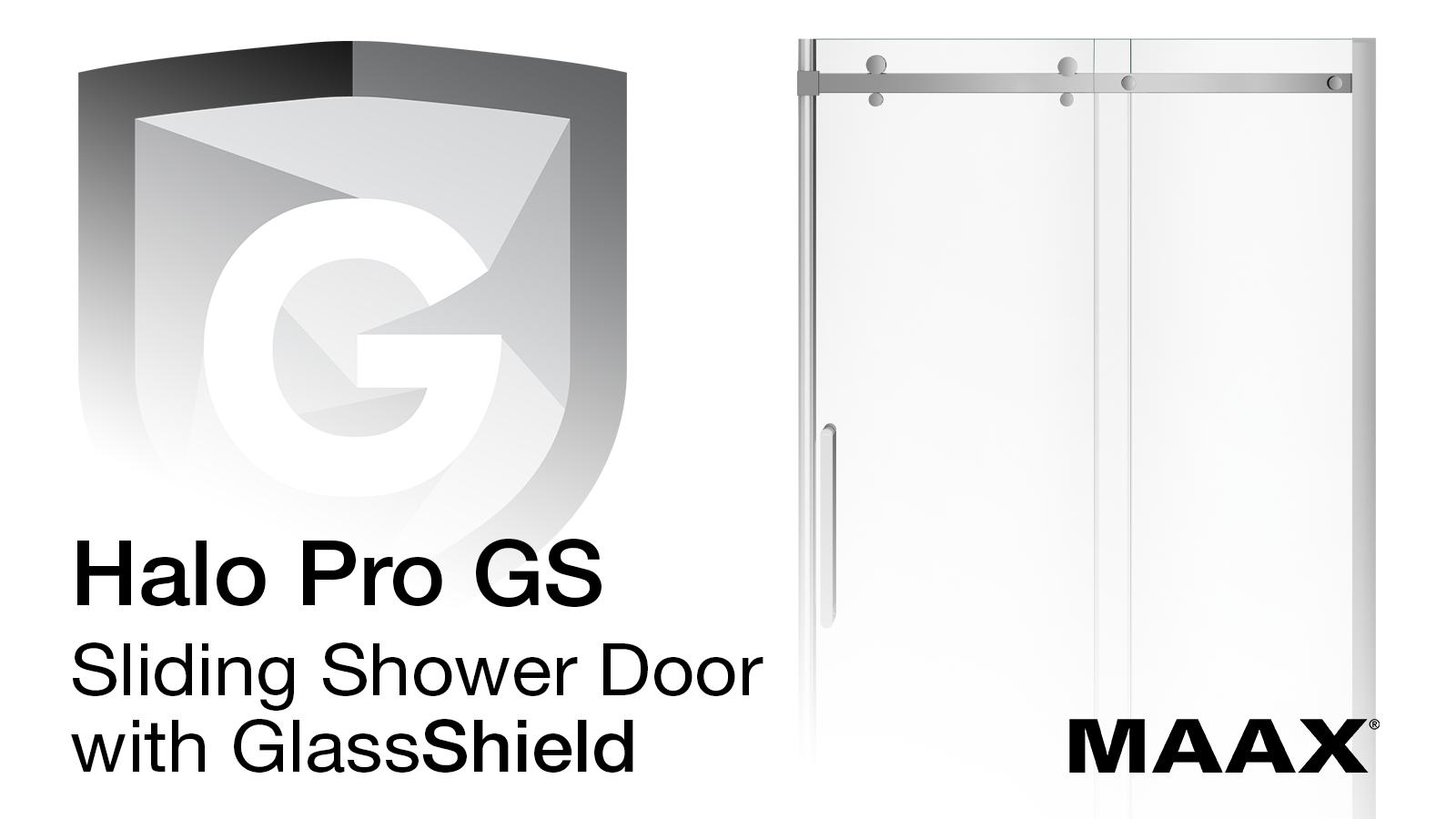 Halo Pro Shower Door with GlassShield