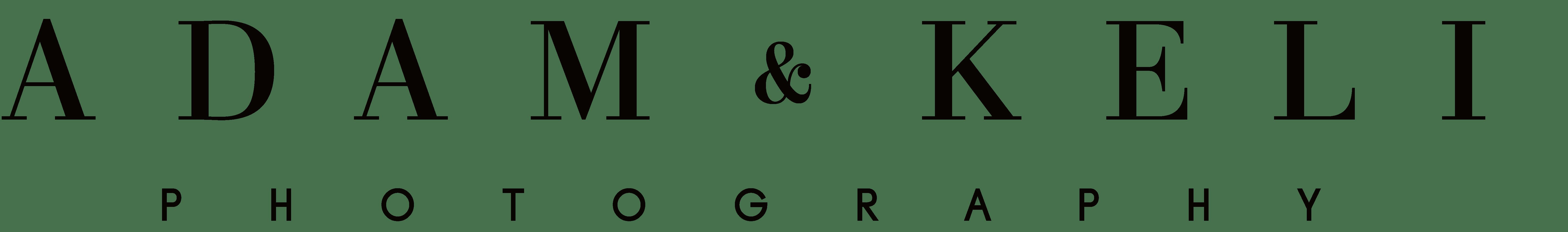 Adam & Keli Photography Logo