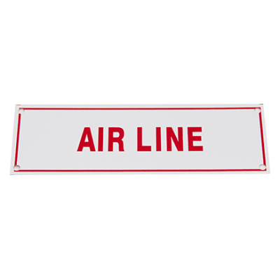 TYPE B AIR LINE SIGN