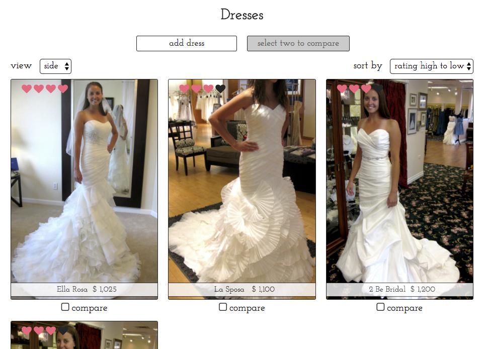 dresses page