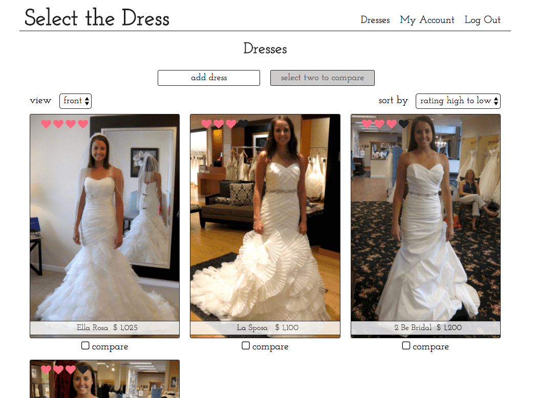 select-the-dress-screenshot