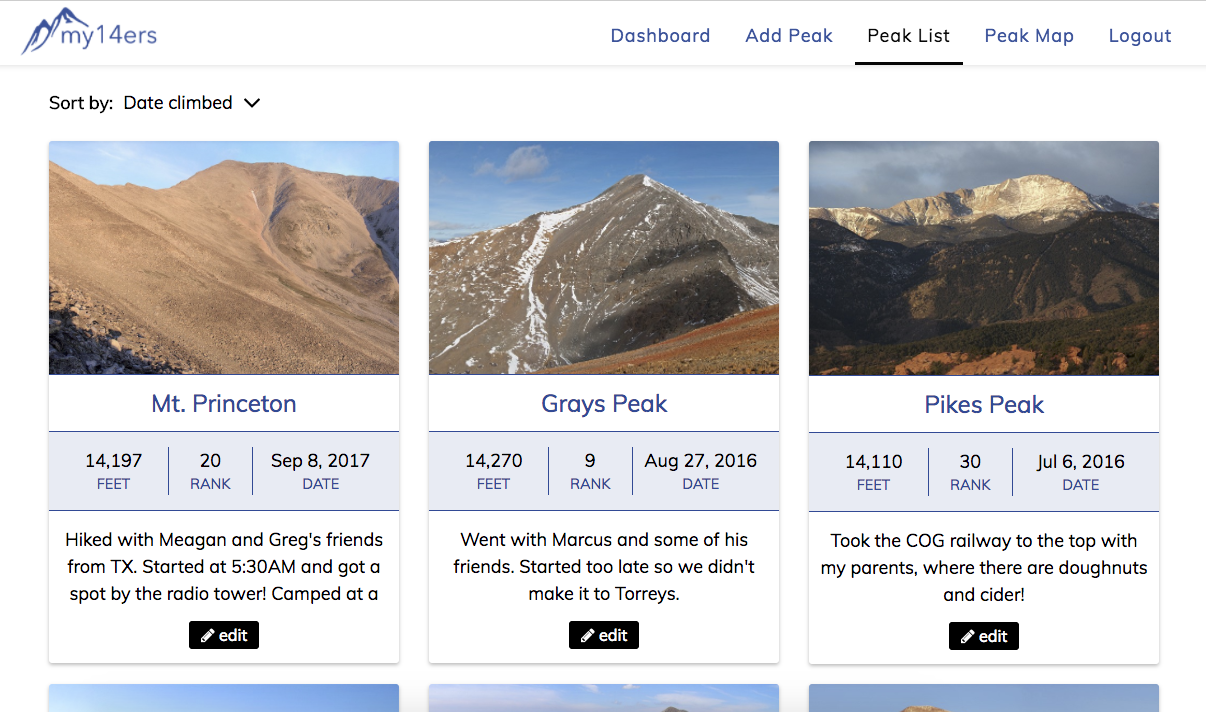 my-14ers-react-screenshot