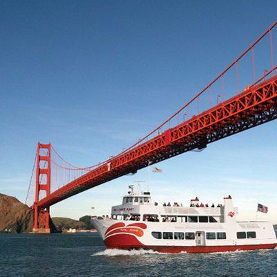 Alcatraz Day Tour + Red and White Fleet Bay Cruise